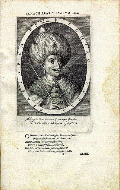 Ukázka zknihy, kterou Tectander napsal po svém návratu ze strastiplné cesty do Persie.