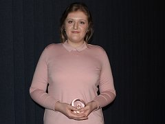 Držitelkou krajské Ceny Ď se stala studentka třetího ročníku českolipského gymnázia Barbora Sukovatá.