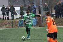Roudnice - Nový Bor (v zeleném), zimní příprava 2020