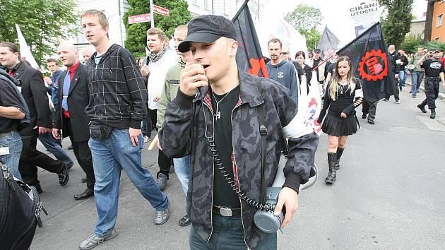 Pochod DSSS v Novém Boru