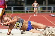 Mezinárodní mládežnické závody v atletice v Kolíně.
