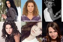 Amina, Michaela, Petra, Ester, Denisa a Tereza.