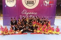 Českolipské mažoretky si v Hradci Králové vybojovaly postup na mistrovství světa.
