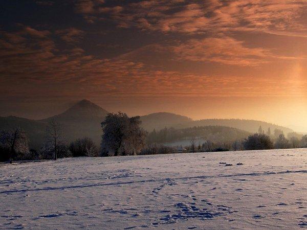 Západ slunce nad Polevskem.