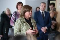 Ministryně financí Alena Schillerová poznávala Českou Lípu.