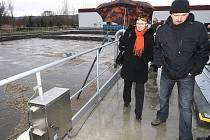 Nejlepší technologie na trhu likvidují splašky z domácností v nově modernizované čistírně odpadních vod v České Lípě.