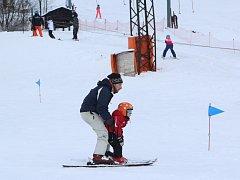 Lyžařská sezóna se na Polevsku už rozjela naplno.
