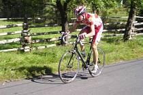 Cyklista Jan Matoušek