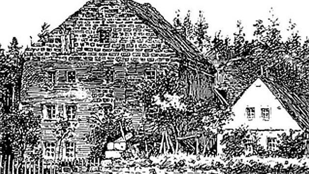 Kamenný dům v Sosnové.
