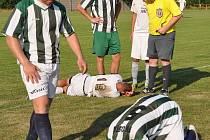 Fotbalisté Doks prohrál v přátelském zápase s Bělou pod Bezdězem 0:4.