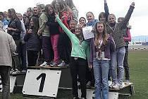 Radost  z dobře vyvedené soutěže potěší každého sportovce. Nejinak tomu bylo u mladých atletek AC Česká Lípa.