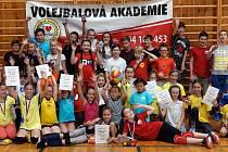 Volejbalové akademie Nový Bor vybojovala sedm medailí!