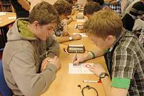 Krajské kolo pIšQworek proběhlo v pátek také v Libereckém kraji, na Gymnáziu F. X. Šaldy v Liberci.