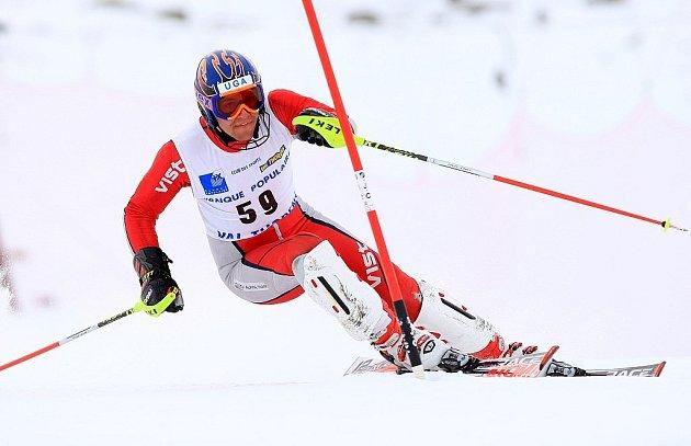 Alpský lyžař Josef Kelemen.