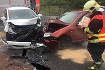 Sobotní nehoda v Zákupech.