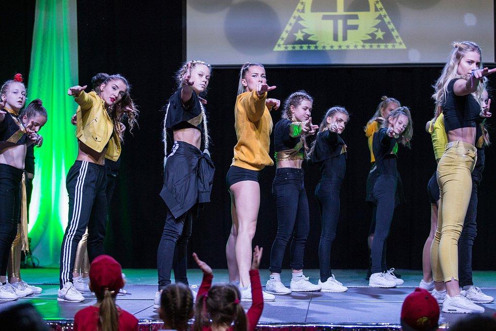 Českolipská taneční skupina Tutti Frutti.