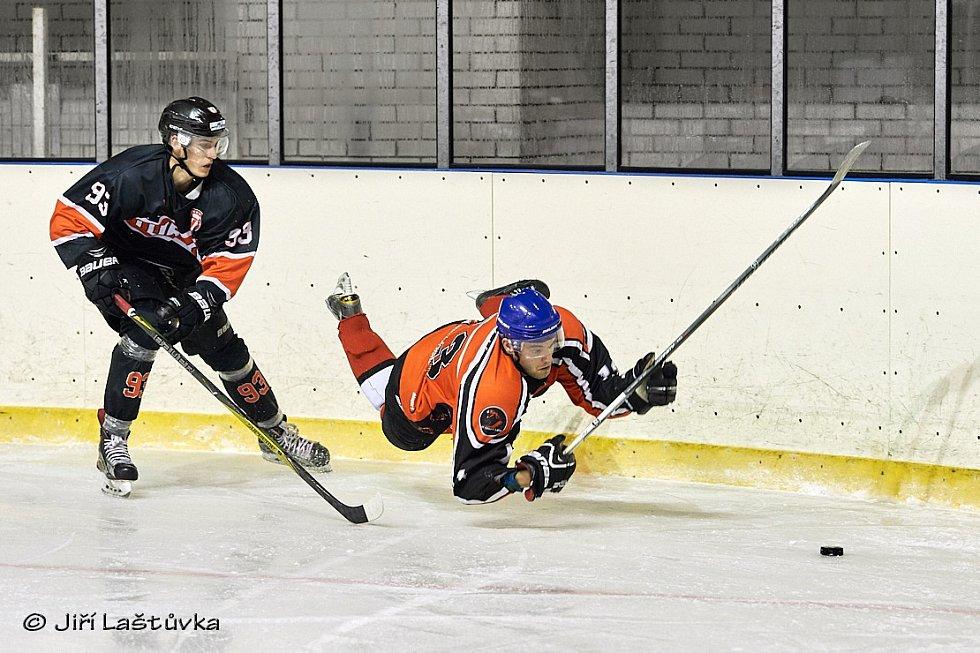 HC Česká Lípa - HC Turnov 2:6.