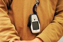Telefon pro nevidomé. Ilustrační snímek.