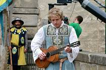 Na Lemberku se předloni točila pohádka Tajemství staré bambitky, ve které si prince zahrál Tomáš Klus.