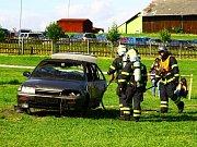 Den dobrovolných hasičů v Brništi.