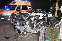 ěžké zranění devětačtyřicetiletého řidiče si vyžádala dopravní nehoda na křižovatce silnice I/9 v Jestřebí na Českolipsku.