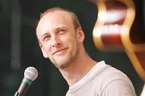 Novoborský muzikant a divadelník Michal Vaněk.