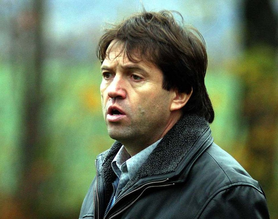 Trenér Milan Bubla.