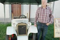 Auto Gatter a jeho majitel Jiří Beran.