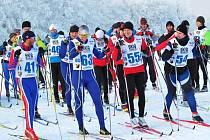 Běžkařský závod Polevská lyže se jede klasickou technikou na strojově upravených tratích v okolí Polevska na Novoborsku na hranici Libereckého a Ústeckého kraje.