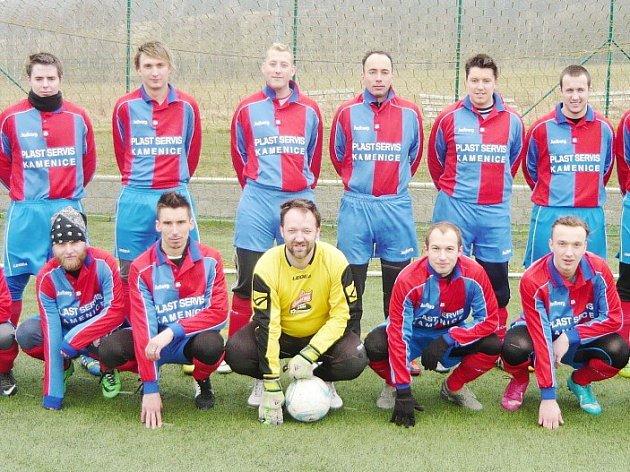 FC Kamenice, vítěz letošního zimního turnaje v Heřmanicích.