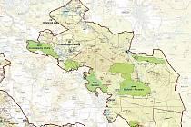 Nová část CHKO, Máchův kraj, jehož název byl zvolen na základě doporučení zástupců samospráv, se rozkládá na území o ploše 136 kilometrů čtverečních.