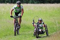 Českolipská handicapovaná para-cyklistka Petra Hurtová se postaví na start velkého Opel Handy Marathonu.