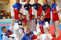 Mladí borci Sport Relaxu v Jablonci.