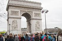 Francouzštináři ze Základní školy U Lesa mohou během výměnných pobytů obdivovat i historické památky.