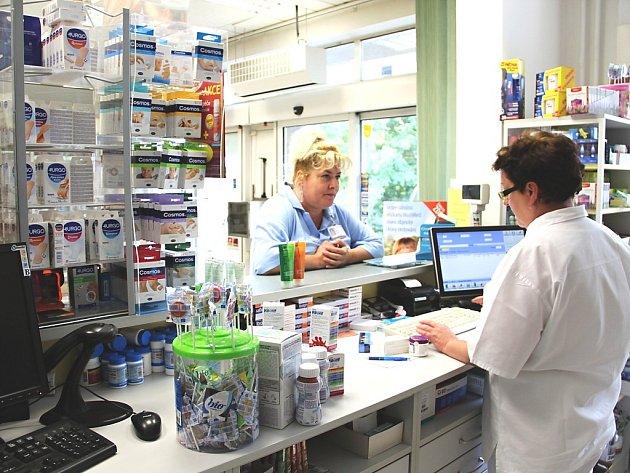 Veřejná lékárna v českolipské nemocnici.