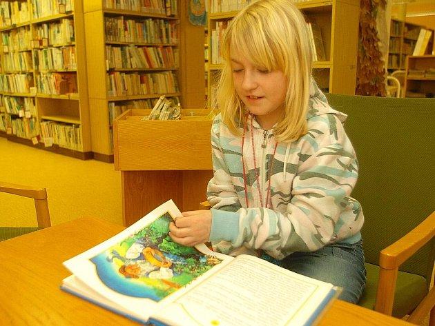Městská knihovna. Ilustrační foto.
