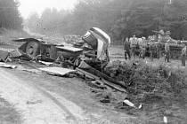 23. srpna 1985 došlo u Kuřívod k hrůzostrašně vypadající srážce sovětského tanku a zájezdového autobusu.