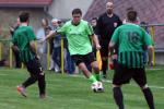 Jakub Serdel - předseda a hráč FC Kamenice v akci.
