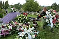 Lidé se přišli rozloučit s tragicky zesnulým mužem z Volfartic.
