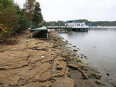 Máchovo jezero bylo naposledy vypuštěné před dvěma lety kvůli opravě hráze ve Starých Splavech.