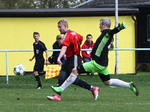 Lokomotiva Česká Lípa - Mimoň 2:2 (0:2).