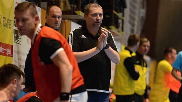 Futsalový trenér FC Démoni Česká Lípa Karel Kruliš.