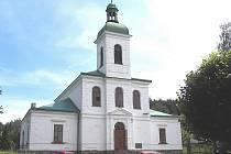 Kostel sv. Ducha v Novém Boru - Arnultovicích.