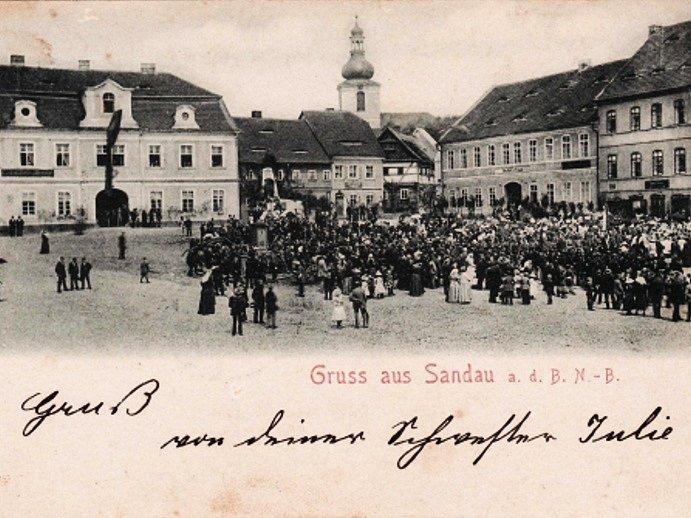 ŽANDOV. Právě sem totiž Dalibor Pták po druhé světové válce odešel.