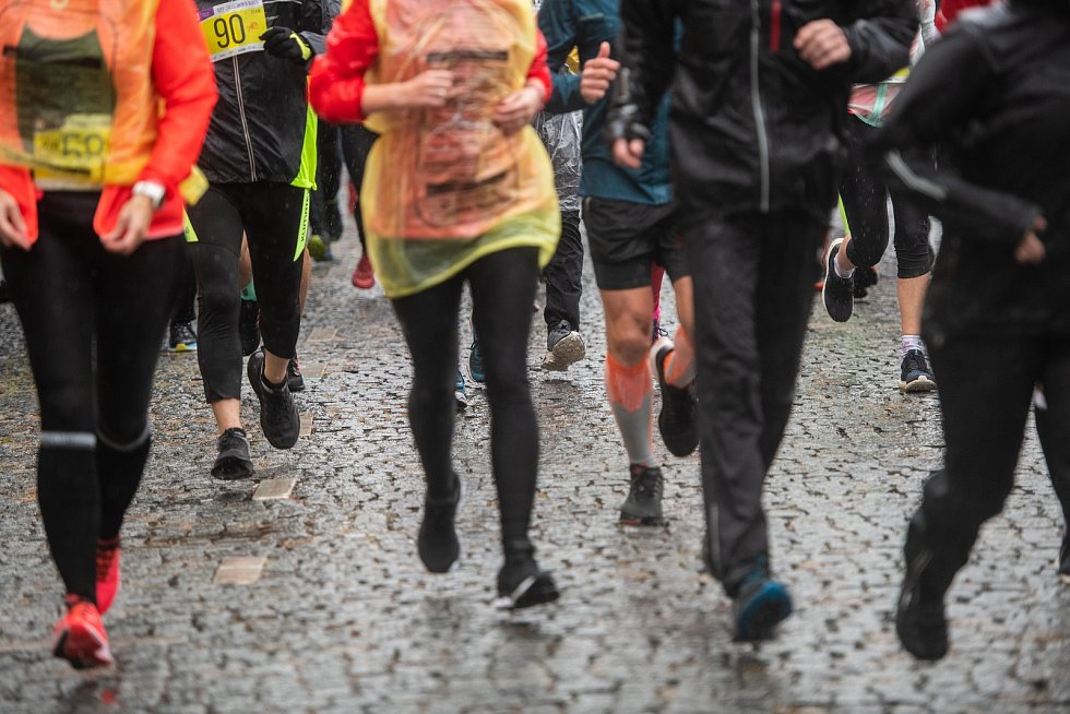 Pátý ročník závodu City Cross Run v České Lípě.
