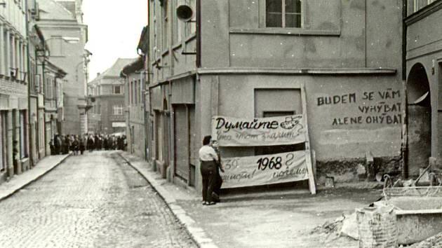 21. srpen 1968 v České Lípě.