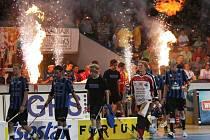 Nástup pozdějších vítězů ze švédského IK Sirius IBK.