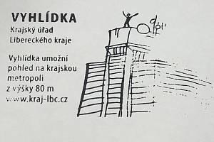 Hned na třech nových turistických razítkách se představuje sídlo Krajského úřadu Libereckého kraje, zvané též liberecký mrakodrap.