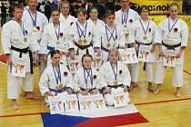 Českolipští karatisté přivezli z italského Caorle, kde se konalo ME klubových družstev, 11 titulů.