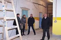 Zahájení rekonstrukce pokojů proběhlo v léčebně v prosinci.